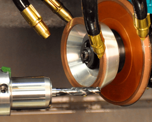 drill point tool grinding