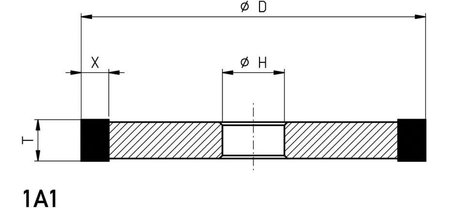 1A1-grinding-wheel-dimensions