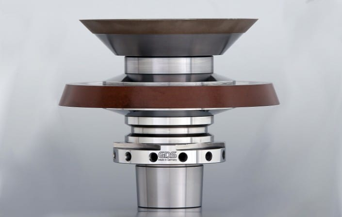 Rollomatic grinding wheel adapters