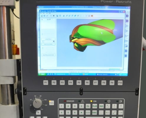 Walter Helitronic Power 400 Retrofit control
