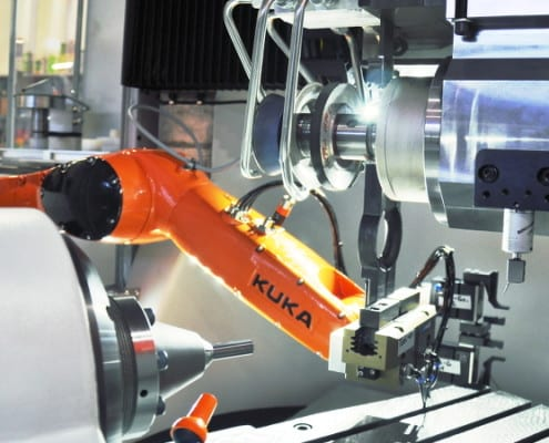 Walter Helitronic Power 400 retrofit Kuka loader